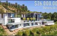 Hollywood Hills Modern Mansion with Stunning City Views